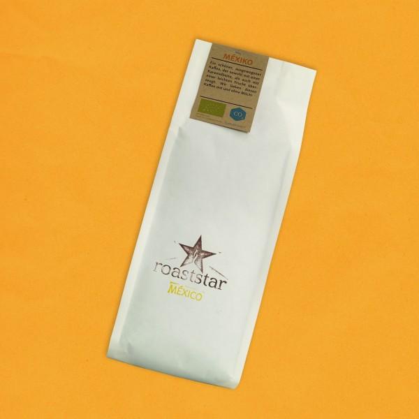 Entkoffeinierte Mexiko Kaffeeröstung