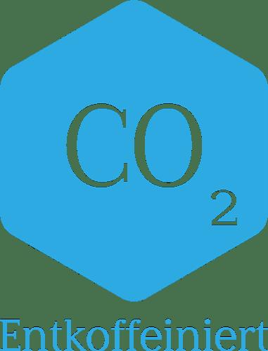 CO2 Entkoffeiniert Logo
