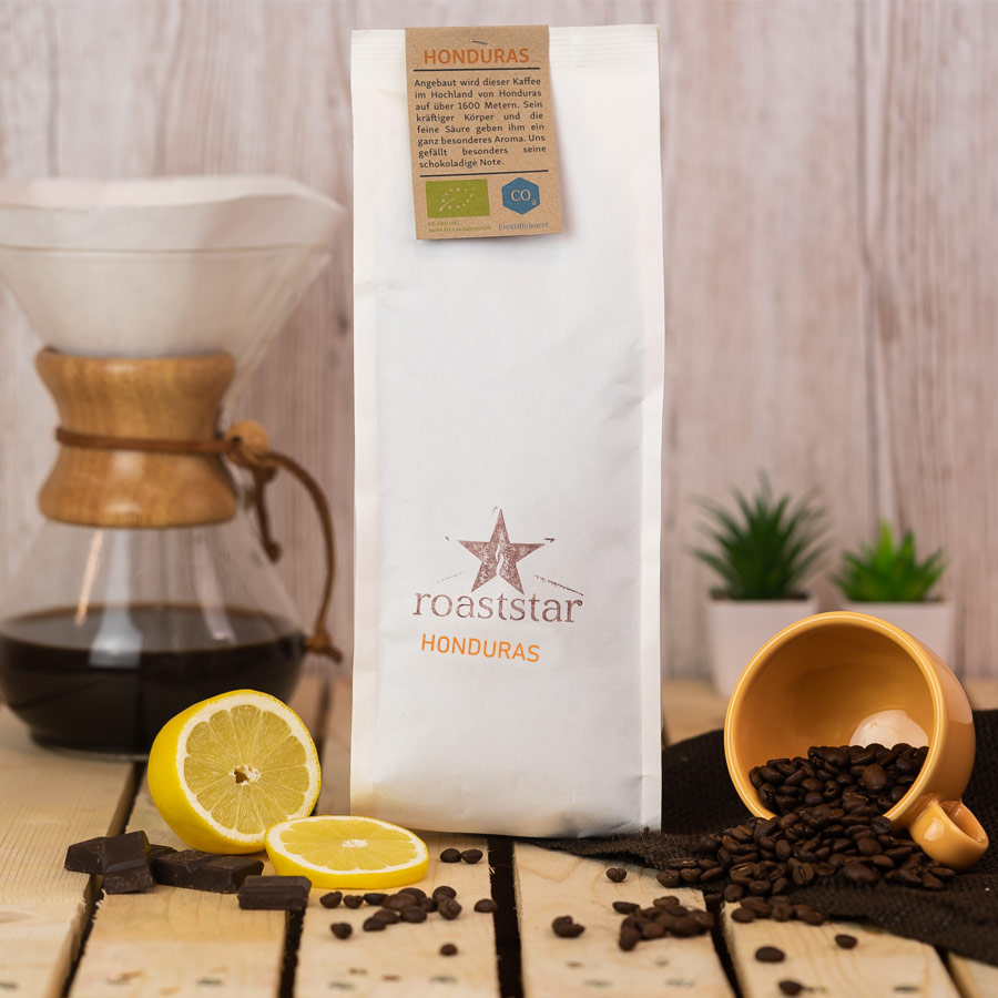 Koffeinfreier Kaffee aus Honduras | roaststar