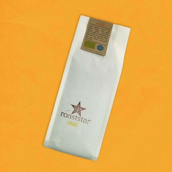 Entkoffeinierte Peru Kaffeeröstung