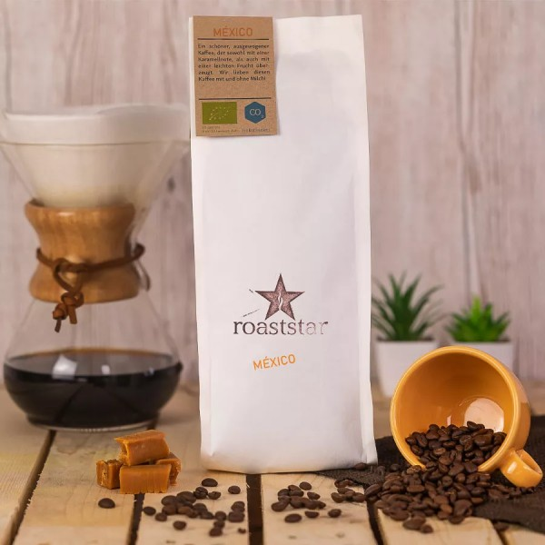 roaststar Mexiko Kaffeeroestung Artikelbild